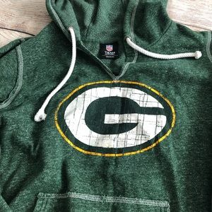 NFL Tops - NFL Green Bay Packers hoodie size L women's